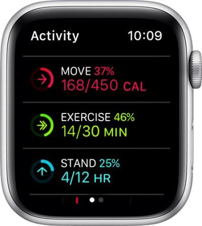 como cambiar los objetivos de calorías al iPhone