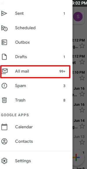 Mobille todo el correo
