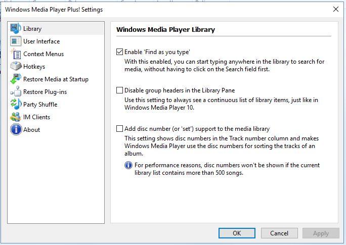 reproductor multimedia de Windows6