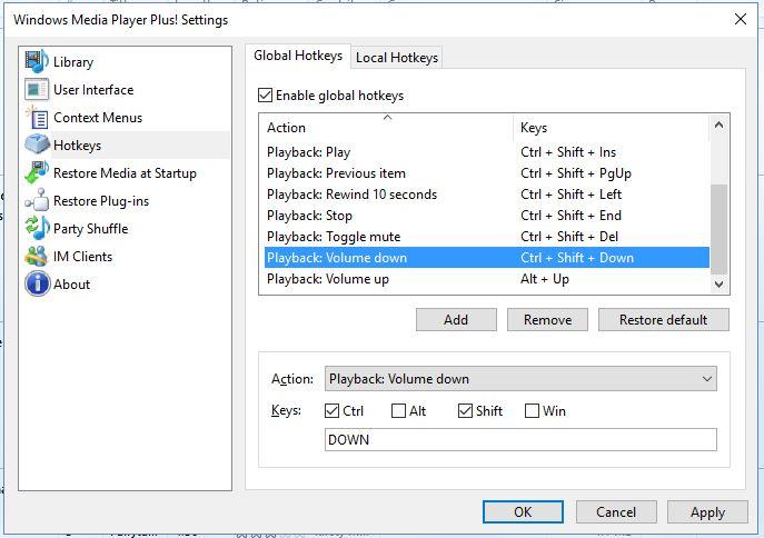 reproductor multimedia de Windows8