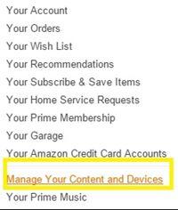 administra su contenido y dispositivos