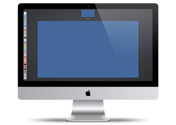 Tablero de OS X desactivado