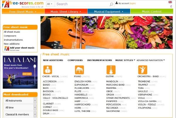 Donde descargar partituras de piano gratuitas y legals4