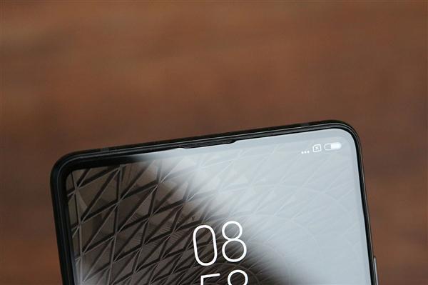 Xiaomi Mi MIX 2S Special Art Edition: parte superior