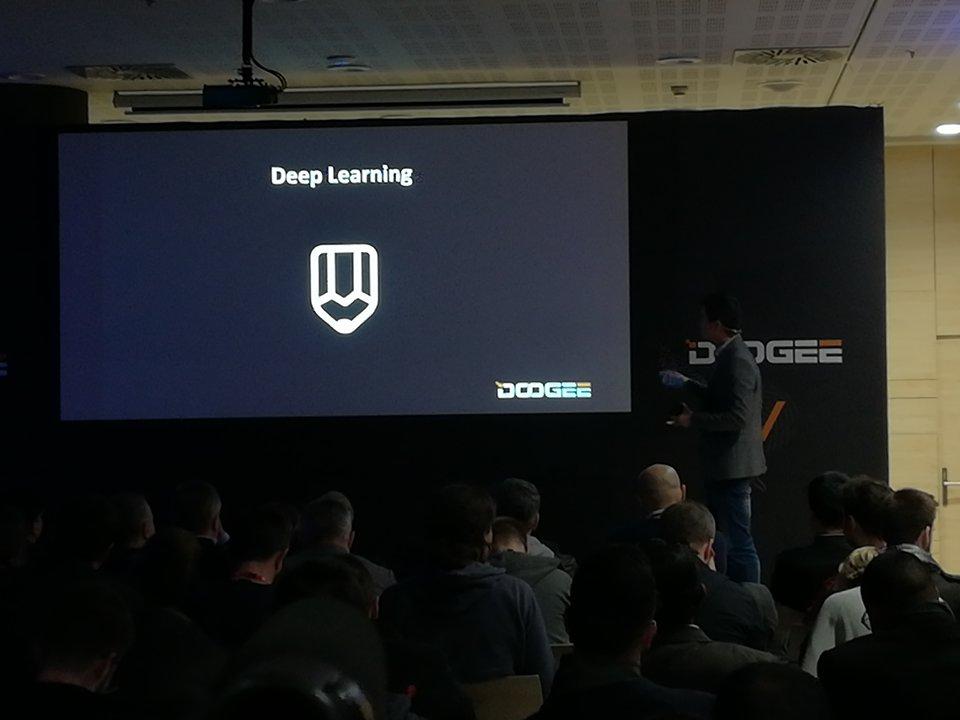 Doogee V desconectado Deep Learnign