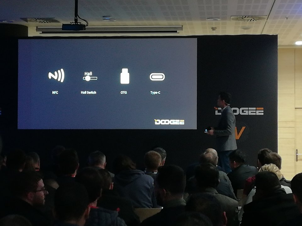 Interfaces doogee V.