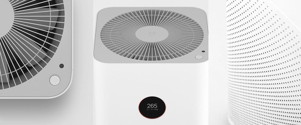 Diseño de purificador de aire Xiaomi Pro