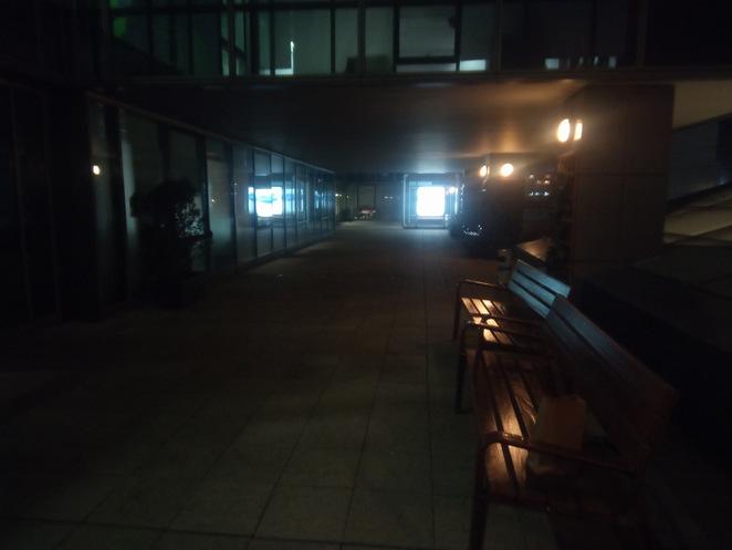 Revisión de la cámara Vernee MIX 2 Plano nocturno