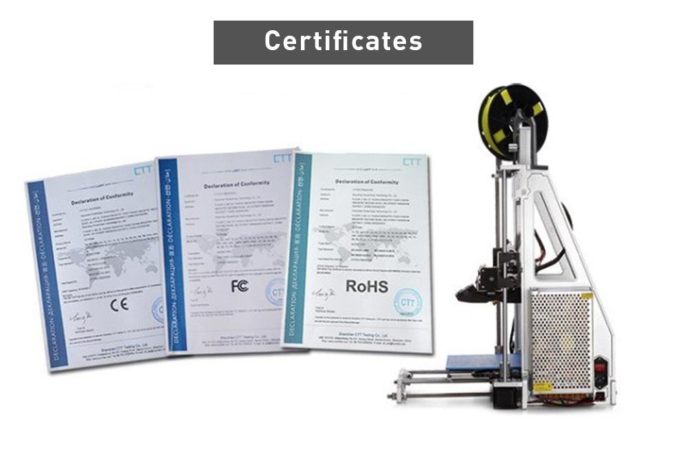 Certificado Raiscube A8R