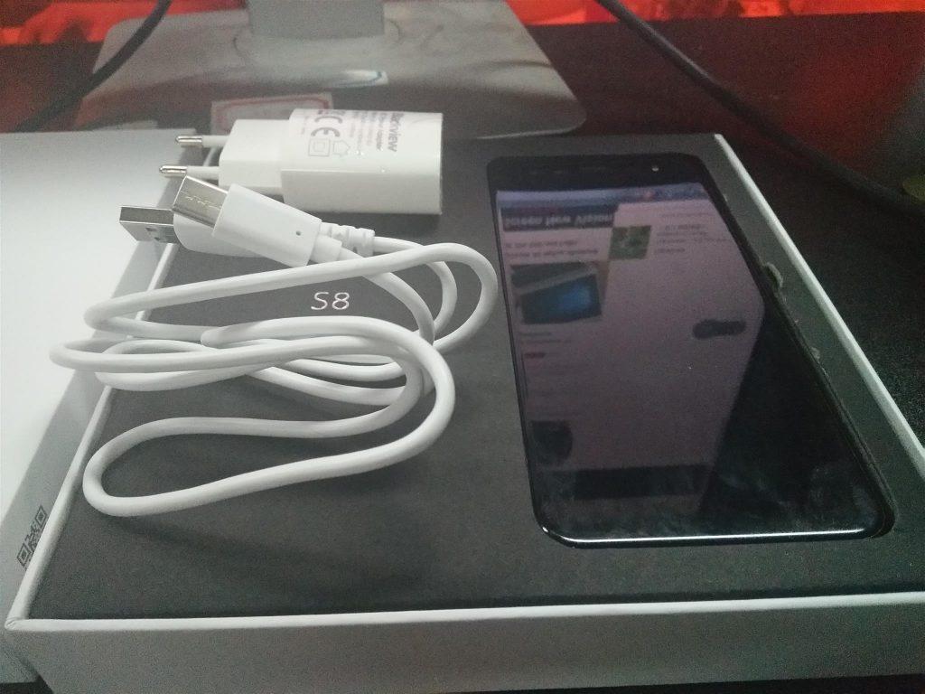 blackview s8 unboxing teléfono asequible con pantalla infinita