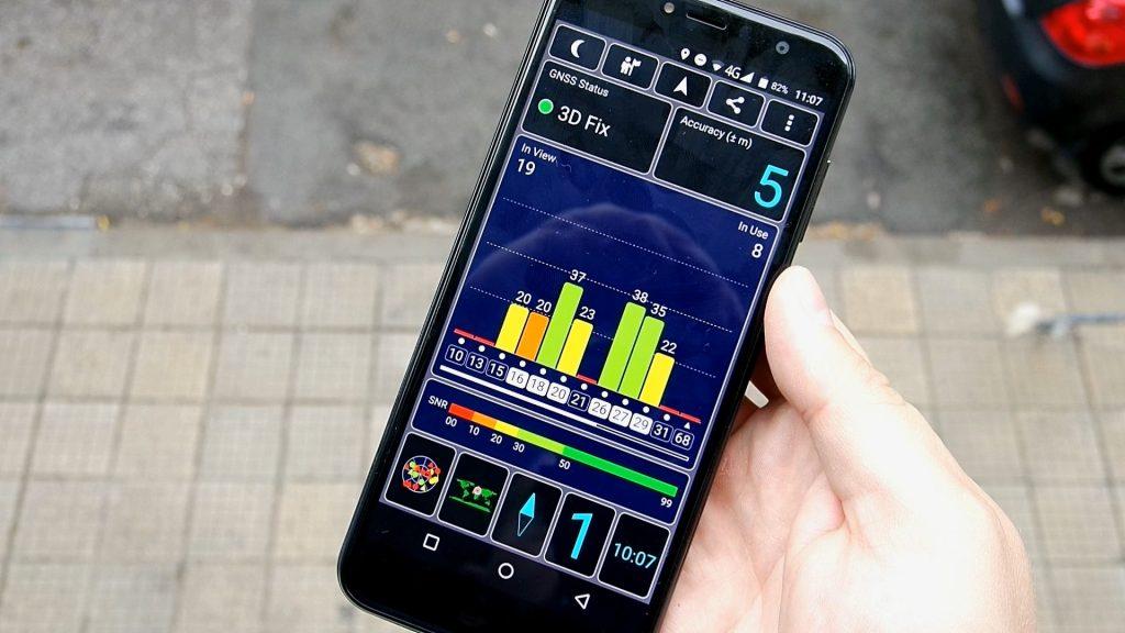 Revisión de Cubota X18: el GPS es muy rápido en el exterior