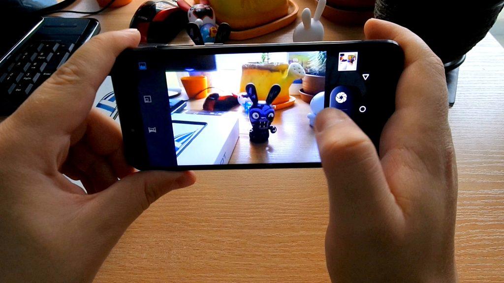 Cubota X18 Review: interfaz de la cámara
