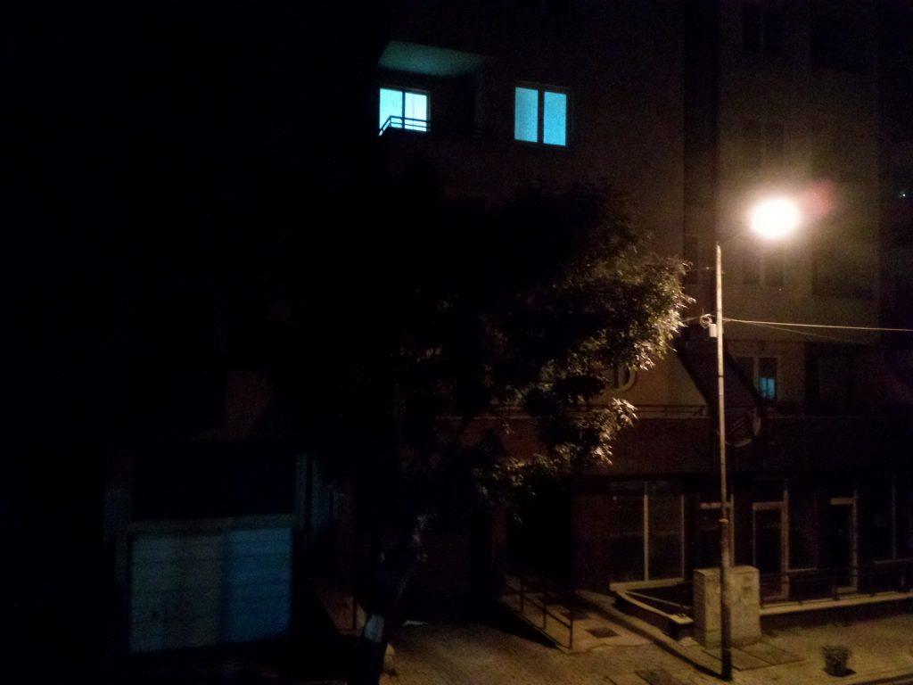Leagoo KIICAA Mix review: cámara fotográfica durante la noche
