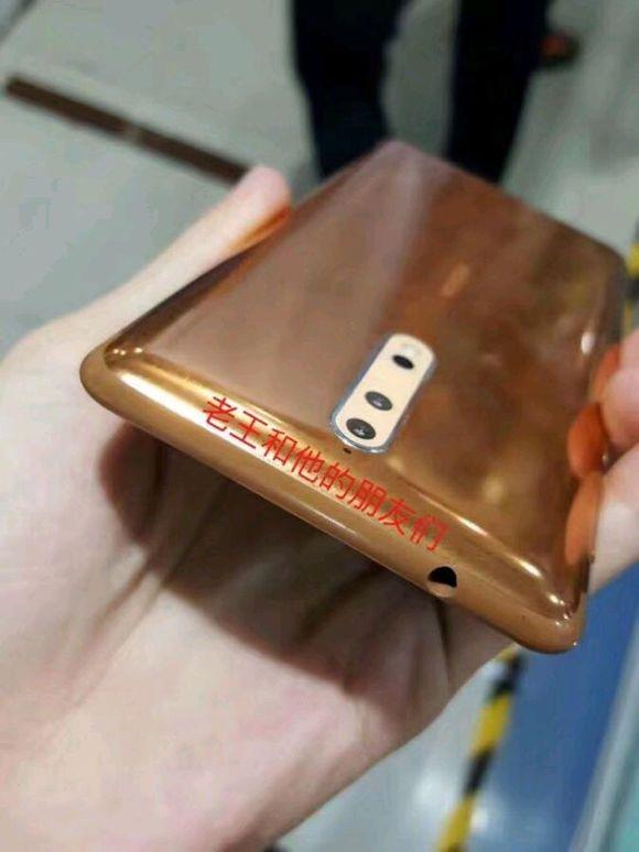 Nokia 8 Imágenes reales