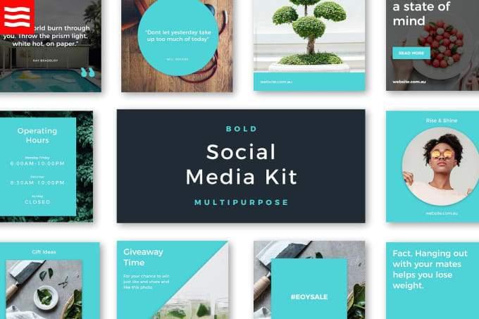 ¿Qué es un kit de redes sociales en Fiverr?  (Guía 2021)