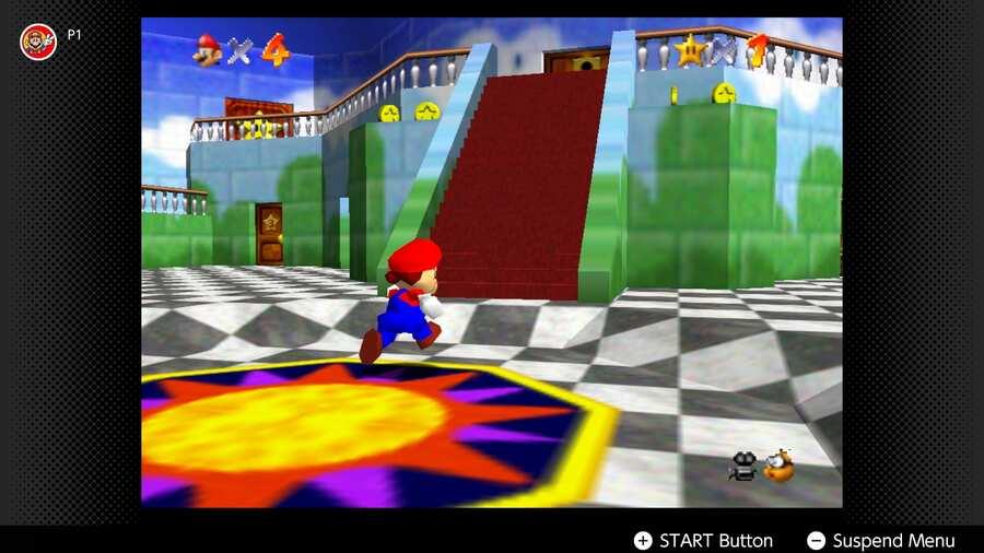 Super Mario 64 - Cambiar en línea
