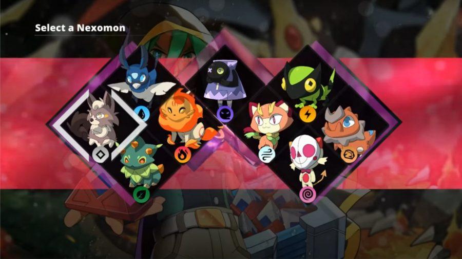 Un grupo de Nexomon