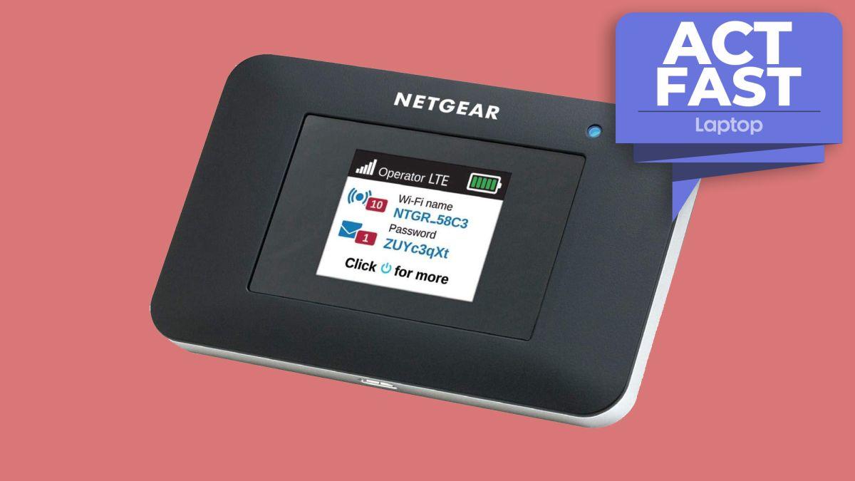 Obtenga $ 123 de descuento en este punto de acceso móvil Netgear 4G LTE