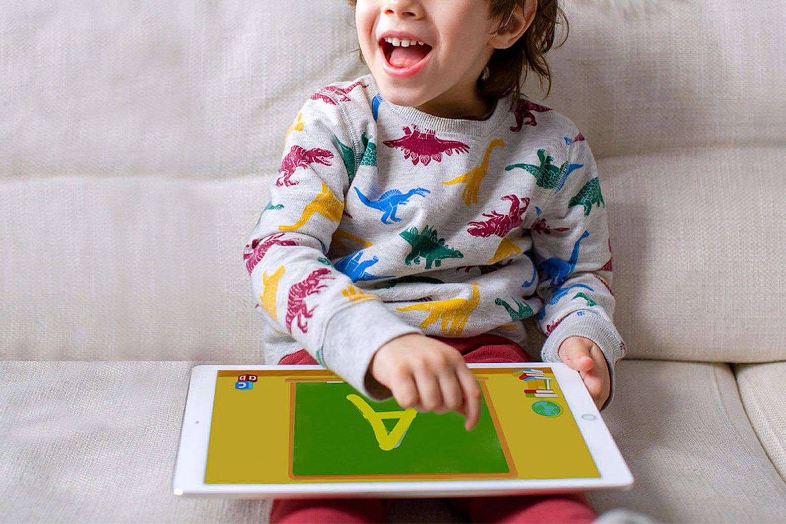 Desarrolle las habilidades de aprendizaje de su hijo con esta aplicación de lectura número uno.  1