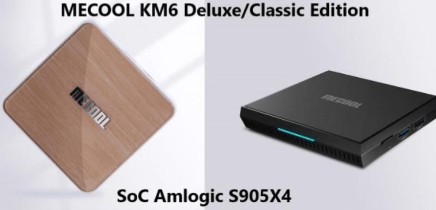 Compre MECOOL KM6 Classic Android 10.0 TV Box por solo $ 64.99 (cupón)