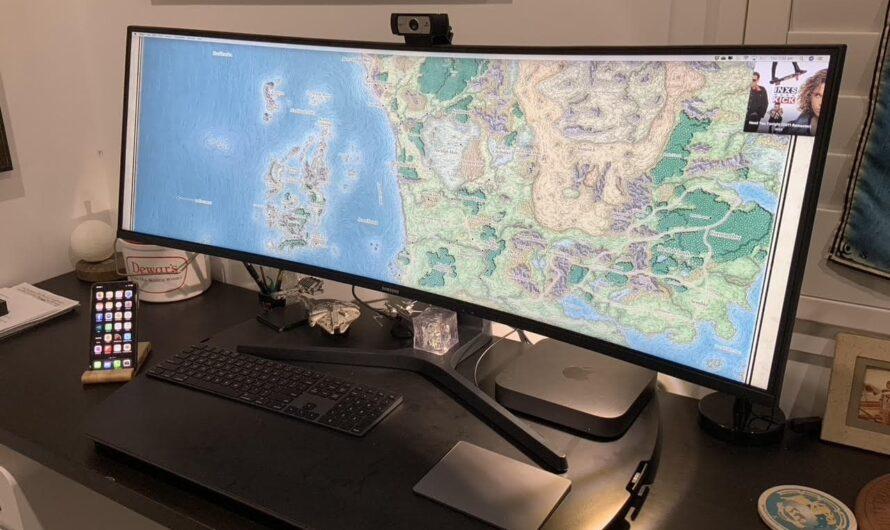 Los juegos de D&D cobran vida a través de Mac mini y la pantalla mágica [Setups]