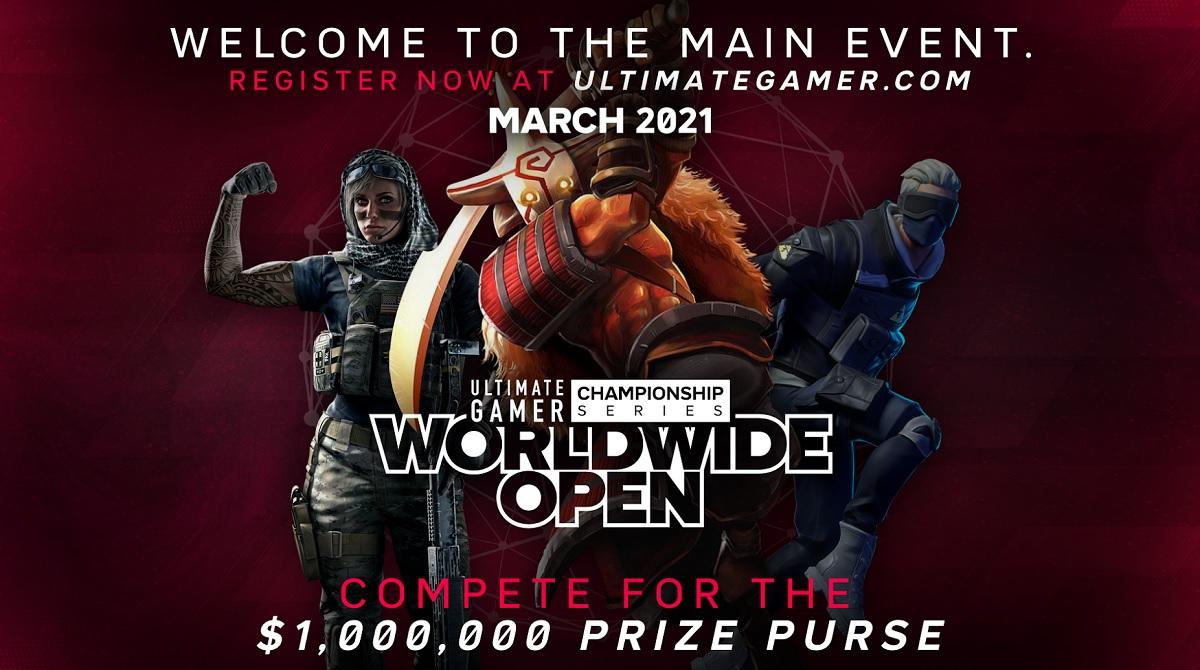 Ultimate Gamer Worldwide Open regalará $ 1 millón en premios